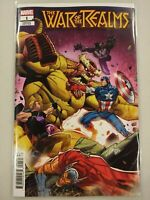 War of the Realms #1 Ron Lim Variant Marvel comic 1st Print MN