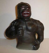 Vintage 1976 King Kong Liquor Bottle Decanter Figure Figurine Dino de Laurentiis
