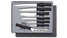 Rada Starter Sets of  Kitchen Knives in Boxes 2 Sets plus Sharpener 15 Pcs