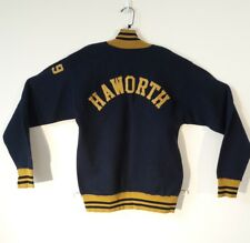 Vintage 50's Champion Nylon Pullover 1/4 Zip Varsity Jacket Men's Medium Talon