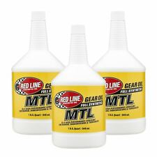 Red Line 50204 SAE 75 W 80 API GL 4 Manual Transmission and Transaxle Lubricant