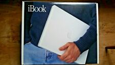 ibook G3 macintosh apple laptop with box, packaging and replacement battery