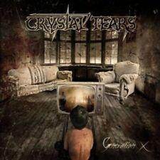 Crystal Tears - Generation X +EXTRA VIDEOCLIP CD NEU OVP