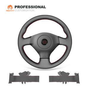 Genuine Leather Car Steering Wheel Cover for Subaru Impreza WRX (STI) 2005-2007
