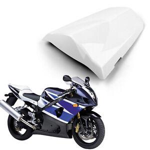 Soziusabdeckung Sitzbezug Seat Cover cowl für Suzuki GSXR1000 03-04 White AH