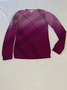 Burberry Childrens Wool Sweater Sz 12
