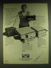 1984 Canon PC-25, PC-10 and PC-20 Personal Copiers Ad - Simpler is Better