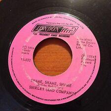 """Shirley (And Company)-Shame Shame Shame-7"""" 45-Jamaica-London V1 532-Vinyl Record"""