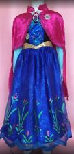 Disney Anna Frozen Singing Costume Dress Up For The First Time 9/10 y