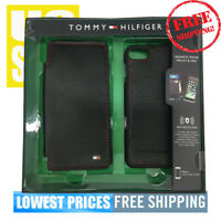 Tommy Hilfiger Magnetic Phone Wallet & CASE w/ RFID Protection for Iphone 7 & 8