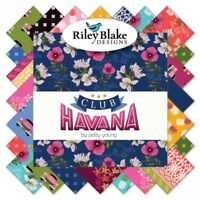 """Club Havana by Patty Young for Riley Blake 5"""" Stacker Charm Pack Fabric"""
