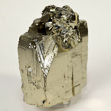 "2.4"" Peruvian Pyrite Cube Cluster Golden Sparkling Natural Quartz Crystal Stone"