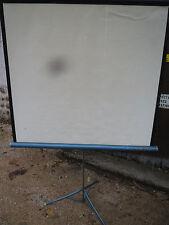Écran de projection diapositive projecteur (Vintage 1960/70)