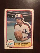 1981 Fleer #156 - Stan Bahnsen - Montreal Expos