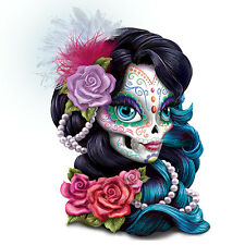 Spirit of Love Sugar Skull Maiden Figurine - Bradford Exchange