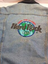 Hard Rock Cafe Paris Vintage Lined Levi Jacket.