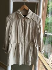 Lovely •Zara• Beige Parka Coat Jacket Size XS 8 EUC