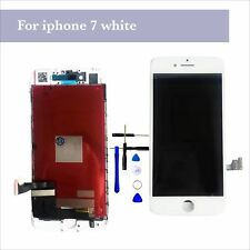 """For iPhone 7 4.7"""" LCD Touch Screen Digitizer Assembly Replacement Glass - White"""