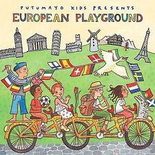 PUTUMAYO Kids European Playground CD NEW Mek Pek Locomondo Biella Neui