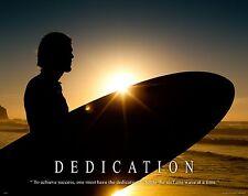 Surfing Motivational Poster Art Used Surfboard Longboard Wet Suit Shorts MVP207