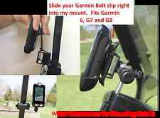 Golf Cart Gps Mount / Holder for Garmin G6 Approach