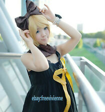 Kagamine Rin / Len VOCALOID Short Blonde Cos Cosplay Party Hair Wig