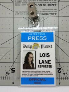 Superman Returns ID Badge-Lois Lane Reporter costume prop cosplay