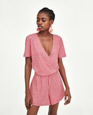 4099da64caf Zara Red Sleeveless Jumpsuits   Playsuits for Women for sale
