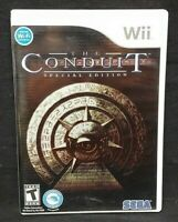 The Conduit Special Edition - Nintendo Wii Wii U Game Tested Working  Complete