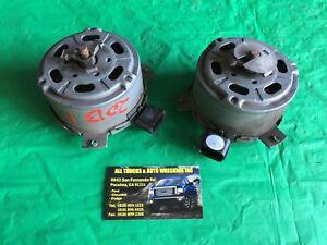 11 12 13 14 Ford F150 Radiator Fan Motors Left & Right OEM