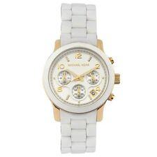 New Michael Kors MK5145 Ladies Runway Chronograph Watch -UK Seller
