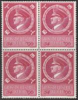 SALE Stamp Germany Mi 887 Sc B271 Block 1944 WWII 3rd Reich Hitler Birthday MNH