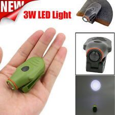 Mini Super Bright Clip-on LED Cap Hat Light Headlamp Lamp For Camping Outdoor UK