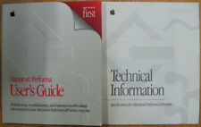 Apple Performa 6200 series manuals User's Guide Technical Information vintage