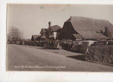 The Old Barn Teahouse Hildenborough Kent Vintage RP Postcard 665b