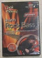 LEARN ROCK BASS GUITAR - Rock House Method Beginner DVD Instructional NEW SEALED