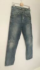 G-STAR RAW MEN Straight Leg Distressed Denim Jeans JACK PANT W29(30) L32