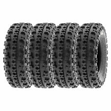 21x7-10 2004-2017 YAMAHA YFZ 450 4 TIRES 20x10-9 AMBUSH ATV TIRES