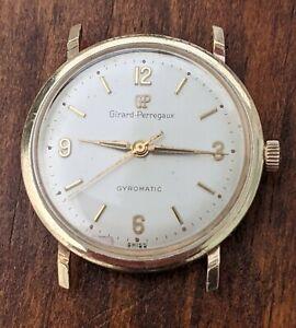 Vintage gents Girard Perregaux Gyromatic - Gold Filled, Good Running Order!