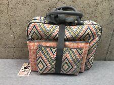 NEW Enchante Accessories Travel Bag 3 Pack Makeup NWT Orange Print