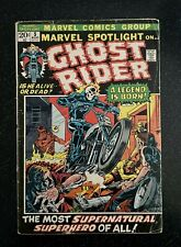 MARVEL SPOTLIGHT 5 - 1st GHOST RIDER Johnny Blaze! CGC it!!! 1972 - HOT KEY BOOK