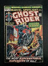 MARVEL SPOTLIGHT 5 - 1st GHOST RIDER Johnny Blaze! CGC it!!! 1972 - HOT KEY BOOK