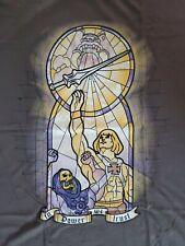 He Man & Skeletor XL T-Shirt 100% preshrunk cotton