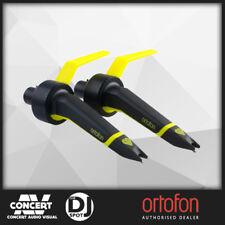 Ortofon Concorde MKII Club Cartridge - Black/Yellow (Twin Set)