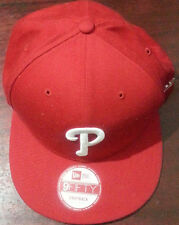 new era 9fifty snapback Philadelphia Phillies baseball cap red small- medium