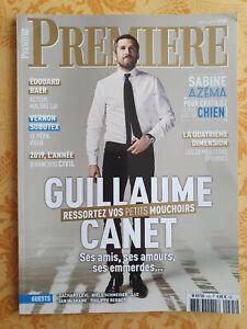 Magazine Première 495 avril 2019 Guillaume Canet ressortez vos petits mouchoirs
