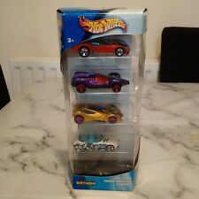 "RARE Hot Wheels ""Batman Gift Pack"" of 5 x Vehicles (2002) - New, Boxed & Sealed"