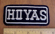 GEORGETOWN UNIVERSITY HOYAS EMBROIDERED LOGO PATCH