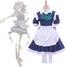 Touhou Project koumakan Maid Vestido Izayoi Sakuya Cosplay envío gratuito []