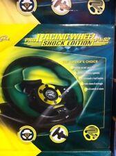 VOLANTE PRO RACING  SHOCK EDITION PS2 PS3 NUOVO 4 TASTI FUNZIONE